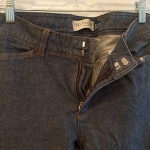 Gap hip-hugger stretch jeans